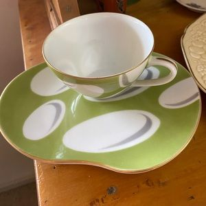 Going Spotty Japanese Cup and Saucer